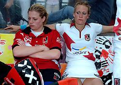 20-05-2007 HOCKEY: FINALE PLAY OFF: DEN BOSCH - AMSTERDAM: DEN BOSCH <br /> Den Bosch voor de tiende keer op rij kampioen van de Rabo Hoofdklasse Dames. In de beslissende finale versloegen zij Amsterdam met 2-0 / Jiske Snoeks en Floortje Engels<br /> ©2007-WWW.FOTOHOOGENDOORN.NL