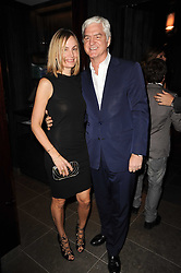 STEPHEN & SOPHIE LUSSIER at a dinner to celebrate the work of Malaria No More UK held at Hakkasan Mayfair, 17 Bruton Street, London W1 on 16th November 2010.