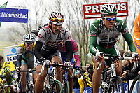 Sykkel<br /> Foto: DPPI/Digitalsport<br /> NORWAY ONLY<br /> <br /> CYCLING - UCI PRO TOUR - TOUR DES FLANDRES 2008 - 6/04/2008<br /> <br /> FABIAN CANCELLARA (SUI) / TEAM CSC - THOR HUSHOVD (NOR) / CREDIT AGRICOLE