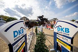 RÜDER Hans Thorben (GER), Pure Pitu<br /> Münster - Turnier der Sieger 2018<br /> Grosser Preis der Stadt Münster<br /> Wertungsprüfung zur DKB-Riders Tour 4. Etappe<br /> 26. August 2018<br /> © www.sportfotos-lafrentz.de/Stefan Lafrentz