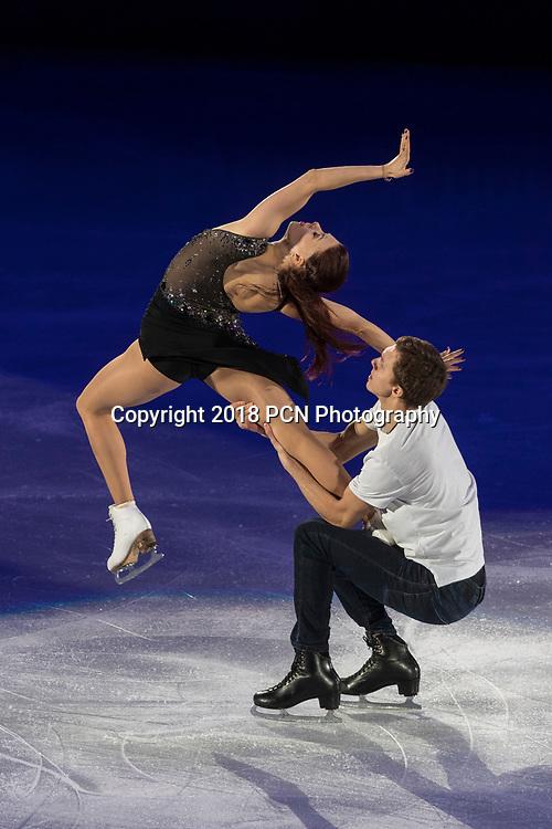 Ekaterina Bobrova/ Dimitri Soloviev (OAR) performing at the Figure Skating Gala  Exhibition at the Olympic Winter Games PyeongChang 2018