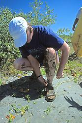 Beverly Hinchorek's Shoe With Mud