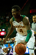 WACO, TX - DECEMBER 18: Gary Franklin #4 of the Baylor Bears drives to the basket against the Northwestern State Demons on December 18 at the Ferrell Center in Waco, Texas.  (Photo by Cooper Neill/Getty Images) *** Local Caption *** Gary Franklin