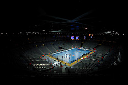 Arena Zagreb at 21st Men's World Handball Championship 2009 Main round Group I, on January 27, 2009, in Arena Zagreb, Zagreb, Croatia.  (Photo by Vid Ponikvar / Sportida)