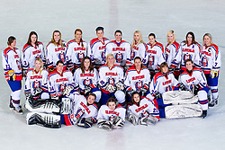 Team Slovenia at practice of Slovenian Women National Ice Hockey Team for World Championship Division II Group B in Iceland on March 20, 2014 in Ledna dvorana, Bled, Slovenia. Photo by Matic Klansek Velej / Sportida
