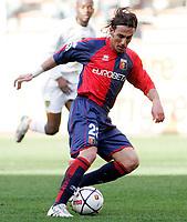 """Giuseppe Greco (Genoa)<br /> Italian """"Serie B"""" 2006-07<br /> 03 Mar 2007 (Match Day 26)<br /> Genoa-Lecce (1-0)<br /> """"Luigi Ferraris""""-Stadium-Genova-Italy<br /> Photographer: Luca Pagliaricci INSIDE"""