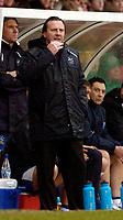 Photo: Leigh Quinnell.<br /> Bristol City v Huddersfield Town. Coca Cola League 1. 10/02/2007. Huddersfield boss Peter Jackson looks on.