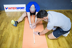 A couple at first session of losing weight during fitness challenge with Jan Kovacic and Matic Kolenc by Resetworkout, on February 20, 2017 in FIT13, Ljubljana - Crnuce, Slovenia. Photo by Vid Ponikvar / Sportida