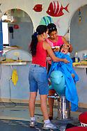 Barbershop in Bayamo, Granma, Cuba.