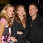 Premiere Sponce Bob the movie, Nicolette van Dam en ouder, moeder Martine Rustveld, vader Rene van Dam