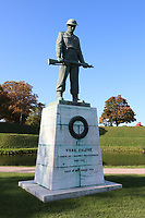 Our Fallen statue, General Views of Copenhagen, Denmark, 05 October 2019, Photo by Richard Goldschmidt