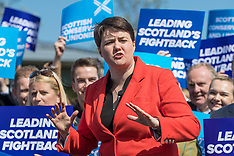 Ruth Davidson launches Tory election campaign | Edinburgh | 8 May 2017