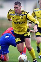 Fotball, 18. februar 2002, La Manga, Lillestrøm - Helsingborgs IF 4-1. Clayton Zane, Lillestrøm.