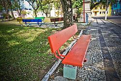 Praça Carlos Telles, também conhecida por Praça Matriz. FOTO: Marcos Nagelstein/Agência Preview