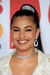attends the Brit Awards at the O2 Arena in London, UK. 21 Feb 2018 Pictured: Mabel McVey. Photo credit: MEGA TheMegaAgency.com +1 888 505 6342