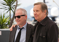 Festival director Thierry Fremaux and Director William Friedkin at the 69th Cannes Film Festival Wednesday 18th May 2016, Cannes, France. Photography: Doreen Kennedy