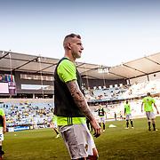Malmö  2016 05 30 Swedbank stadion<br /> Practice game at Swedbank Stadion<br /> Sweden vs Slovenia<br /> John Guidetti<br /> <br /> ----<br /> FOTO : JOACHIM NYWALL KOD 0708840825_1<br /> COPYRIGHT JOACHIM NYWALL<br /> <br /> ***BETALBILD***<br /> Redovisas till <br /> NYWALL MEDIA AB<br /> Strandgatan 30<br /> 461 31 Trollhättan<br /> Prislista enl BLF , om inget annat avtalas.