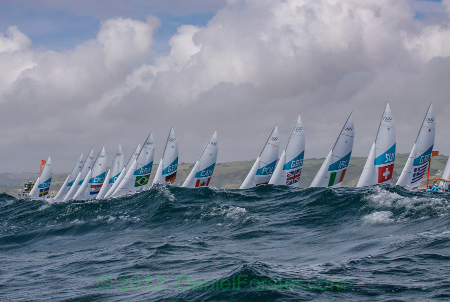 Star start<br /> <br /> 2012 Olympic Games <br /> London / Weymouth