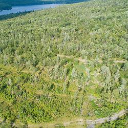 43.48060, -71.15279. Birch Ridge location E. 400 feet above ground - facing northeast. New Durham, New Hampshire.
