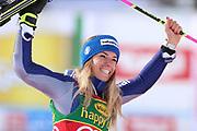 SOELDEN, AUSTRIA. OCTOBER 17 2020:  1st Women's Giant Slalom as part of the Alpine Ski World Cup in Solden on October 17, 2020; Run 2, Marta Bassino (ITA) wins the race. ( Pierre Teyssot/ESPA Images-Image of Sport)