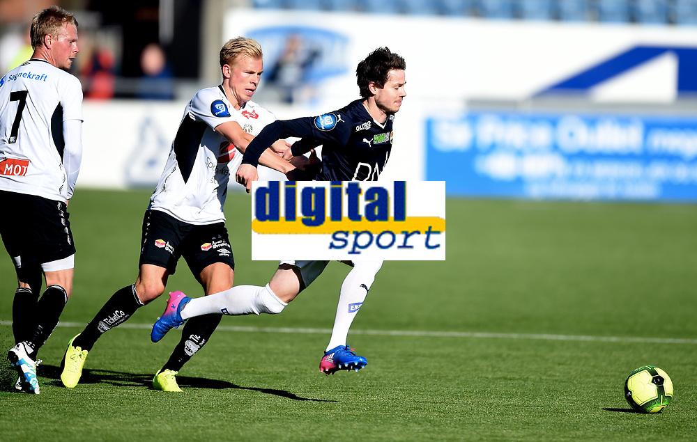 Fotball , 18. mars 2017 ,  Privatkamp , Strømsgodset - Sogndal 5-0<br /> <br /> Martin Ramsland , Sogndal<br /> Lars Vilsvik , SIF