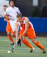 DEN BOSCH -  Goof van der Kamp tijdens de wedstrijd tussen de mannen van Jong Oranje  en Jong Frankrijk (2-1), tijdens het Europees Kampioenschap Hockey -21. ANP KOEN SUYK
