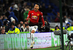 Jesse Lingard of Manchester United scores a goal making it 1-5- Mandatory by-line: Nizaam Jones/JMP - 22/12/2018 -  FOOTBALL - Cardiff City Stadium - Cardiff, Wales-  Cardiff City v Manchester United - Premier League