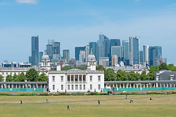 ©Licensed to London News Pictures 22/06/2020<br /> Greenwich, UK. A warm sunny day in Greenwich park, Greenwich, London. The UK to enjoy hot heatwave weather this week with temperatures set to bring the hottest day of the year so far. Photo credit: Grant Falvey/LNP