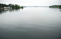 Lake Winnisquam from Mosquito Bridge.  ©2018 Karen Bobotas Photographer