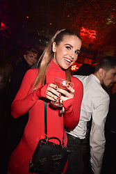 Vogue Williams at the Maybelline New York Bring on The Night party hosted by Adriana Lima & Jourdan Dunn at Scotch of St.James, 13 Masons Yard, England. 18 February 2017.