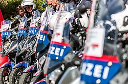 04.07.2017, Pöggstall, AUT, Ö-Tour, Österreich Radrundfahrt 2017, 2. Etappe von Wien nach Pöggstall (199,6km), im Bild Polizei Motorräder // during the 2nd stage from Vienna to Pöggstall (199,6km) of 2017 Tour of Austria. Pöggstall, Austria on 2017/07/04. EXPA Pictures © 2017, PhotoCredit: EXPA/ JFK