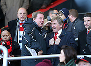 Harry Redknapp talks to Kenny Dalglish during the Premier League match at the Vitality Stadium, London. Picture date December 4th, 2016 Pic David Klein/Sportimage