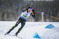 February 8, 2019 - Calgary, Alberta, Canada - Lesser Eric (GER) is competing during Men's Relay of 7 BMW IBU World Cup Biathlon 2018-2019. Canmore, Canada, 08.02.2019 (Credit Image: © Russian Look via ZUMA Wire)