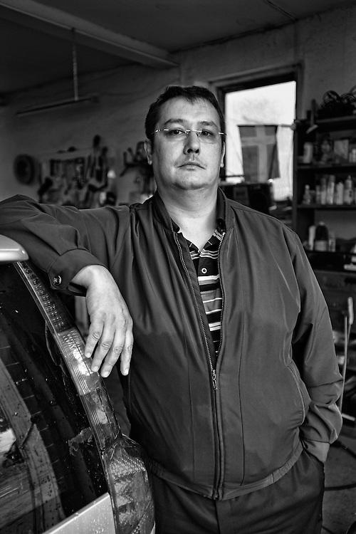 Allan Svarts, Finnish Kaale Roma living in Sweden