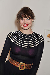 JASMINE GUINNESS at the Swarovski Whitechapel Gallery Art Plus Fashion fundraising gala in support of the gallery's education fund held at The Whitechapel Gallery, 77-82 Whitechapel High Street, London E1 on 14th March 2013