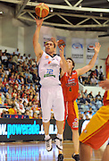 Paul Henare (NZ)<br /> New Zealand Breakers vs Melbourne Tigers<br /> Basketball- NBL Semi Finals Game 1<br /> Melbourne / Weds 25 Feb 2009<br /> © Sport the library / Jeff Crow