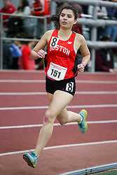 800, Boston U, Cousens<br /> Boston University Athletics<br /> Hemery Invitational Indoor Track & Field