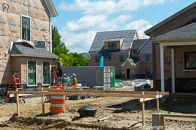 Hickory Street Construction, June 2013