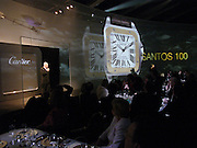 Party to celebrate 100 years of the Santos  de Cartier watch. Le Bourget airport. Paris. 7 April 2004. ONE TIME USE ONLY - DO NOT ARCHIVE  © Copyright Photograph by Dafydd Jones 66 Stockwell Park Rd. London SW9 0DA Tel 020 7733 0108 www.dafjones.com