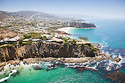 Aerial Photo of Abalone Point and Emerald Point of Laguna Beach