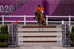 Smolders Harrie, NED, Bingo Du Parc, 372<br /> Olympic Games Tokyo 2021<br /> © Hippo Foto - Dirk Caremans<br /> 07/08/2021