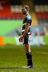 Jack Van Poortvliet of Leicester Tigers  - Mandatory by-line: Nick Browning/JMP - 29/01/2021 - RUGBY - Mattioli Woods Welford Road - Leicester, England - Leicester Tigers v Sale Sharks - Gallagher Premiership Rugby