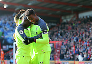 Liverpool's Divock Origi celebrates scoring his sides second goal during the Premier League match at the Vitality Stadium, London. Picture date December 4th, 2016 Pic David Klein/Sportimage