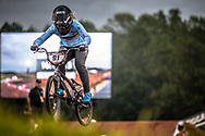 #91 (VANHOOF Elke) BEL [Pure, Zulu] at Round 7 of the 2019 UCI BMX Supercross World Cup in Rock Hill, USA