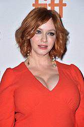 Christina Hendricks attends the American Women screening held at the Princess of Wales Theatre during the Toronto International Film Festival in Toronto, Canada on September 9th, 2018. Photo by Lionel Hahn/ABACAPRESS.com