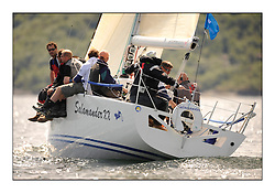Brewin Dolphin Scottish Series 2010, Tarbert Loch Fyne - Yachting..Perfect conditions for the last days racing deciding the result in most fleets...Winners GBR1433R ,Salamander XX ,John Corson ,CCC ,Corby 33..Credit : Marc Turner / CCC......