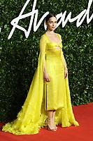 Emilia Clarke, The Fashion Awards 2019, Royal Albert Hall, London, UK, 02 December 2019, Photo by Richard Goldschmidt