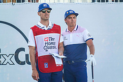 February 28, 2019 - Florida, U.S. - Rickie Fowler (right) during the first round of The Honda Classic Thursday, February 28, 2019 at the PGA National Resort & Spa in Palm Beach Gardens. (Credit Image: © Bruce R. Bennett/The Palm Beach Post via ZUMA Wire)