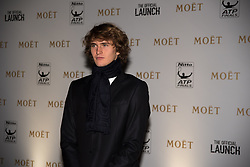 November 9, 2017 - London, England, United Kingdom - Alexander Xverev arrives at The Official Launch for ATP Finals, held at the Tower of London prior to the start of ATP World Tour Finals Tennis at O2 Arena, London on November 9, 2017. (Credit Image: © Alberto Pezzali/NurPhoto via ZUMA Press)