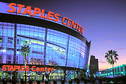 Staples Center, Downtown Los Angeles, California (LA)